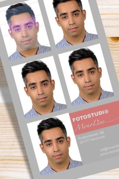 monoline-passbilder